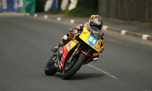 maria in action at the cookstown 100