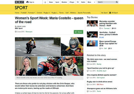 BBC Women's Sport Week 2015