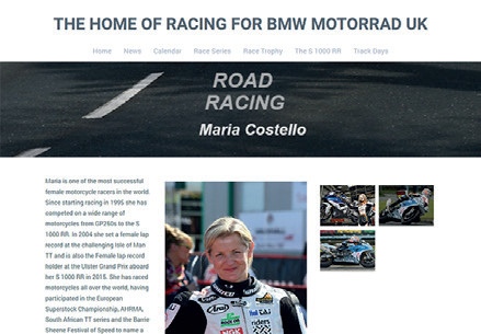 BMW Motorrad Racing - Small Biography