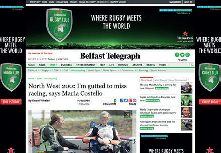 Belfast Telegraph - Gutted!