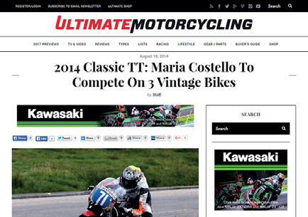 Ultimate Motorcycling - 2014 Classic TT